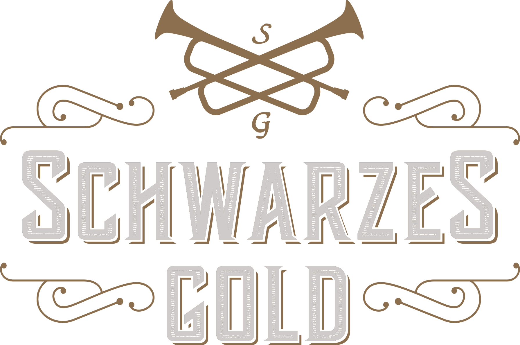 Schwarzes Gold - white